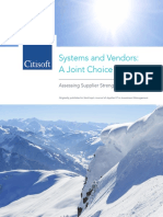 Citisoft IP Systems and Vendors