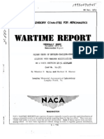 NACA P-51X Wing Data With Various Trailing Edge Modifications