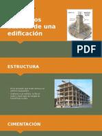 Elementos Básicos de Una Edificación