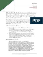 05-11-17 GF&Co- GSE Reform - FHFA Watt on the Hill