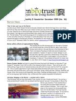 Dec 2009 Burrenbeo Trust Newsletter