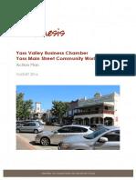 Yass Valley Main Street Action Plan Final August 2016