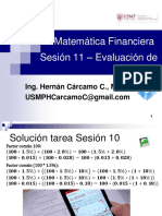 Matemática Financiera Sesión 11