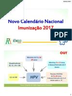 Atualizações 2017 - Imunização - Parte 2