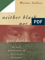 Werner Sollors - Thematic Explorations of Interracial Literature.pdf