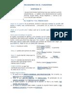 Sintaxis II Definir y Funciones Básicas