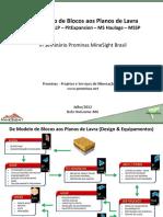Workshop 01A de Modelo de Blocos Aos Planos de Lavra