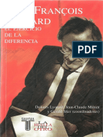 Jean-françois Lyotard - El Ejercicio de La Diferencia