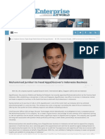 Muhammad Jumhari to Head AppsDiscover's Indonesia Business