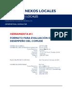 11. Herramienta Para Evaluación de Desempeño Del COMUDE 16 May