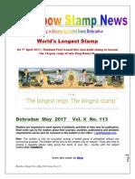 Rainbow Stamp News May 2017