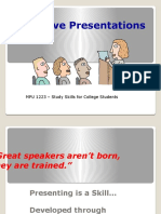 MPU 1223 - Presentation Skills