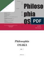 Philosophia OSAKA No.7