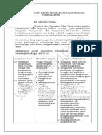 3. Kompetensi Dasar, Materi Pembelajaran, Dan Kegiatan Pembelajaran (Kurikulum 2013)