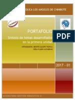 Portafolio de Gestión Educativa II