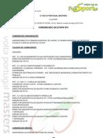 CLASSIFICAÇÃO 4ª ETAPA - 2ª VOLTA PORTUGAL MASTERS