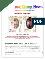 Rainbow Stamp News April 2017