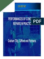 Performances of Concrete Repairs in Practice