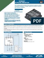 ICM 401 Phase controller