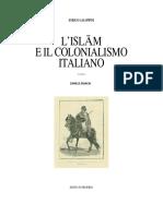 Enrico Galoppini - L'Islam e Il Colonialismo Italiano