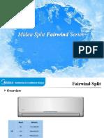Midea Split Fairwind Series