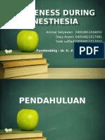 Awareness During Anesthesi