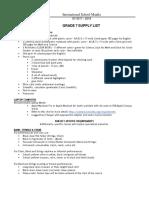 Grade 7 Supply List for SY 1718