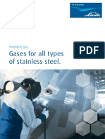 Shielding Gases for Stainless Steel Brochure