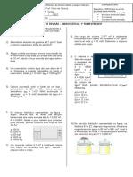 Exercícios de Revisão de Física - 2ºb