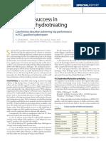 Achieve Success in Gasoline Hydrotreating