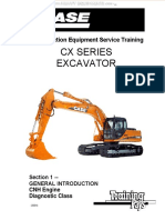 Manual Case Cx Series Excavators Introduction Engine Systems Components Controller Calibration Displays Diagnostic