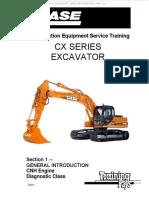 Manual Case Cx Series Excavators Introduction Engine Systems Components Controller Calibration Displays Diagnostic