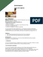 LOS CINCO MINISTERIOS.docx