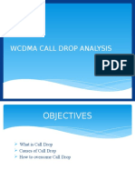 Wcdma Drop Call Analysis
