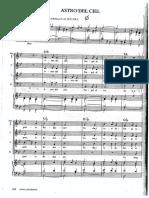 Astro del Ciel (v2) - 4 Voci + Organo
