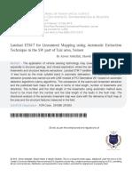 5 Landsat ETM for Lineament Mapping