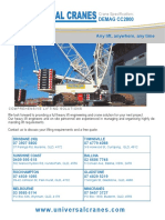 Demag CC2800 Specifications