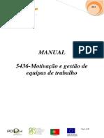 5436 Motivação e Gestão de Equipas de Trabalho (1)