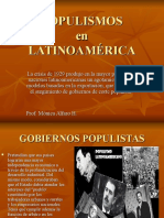 POPULISMOS EN AMERICA LATINA.ppt