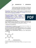 Hidrocarburos Aromaticos y Derivados Halogenados
