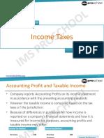 Unit 31 Income Taxes 2013