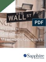 Sapphire Resumen Mercados El Dinero Mayo 8 2017