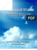 A Program of Studies for New Muslims