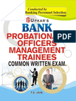 Bank Probationary Officers - Management Trainees Common Written Exam [PDF] -Stark.pdf