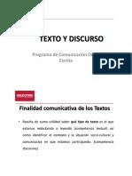 2xh_CLASE 3. 1 El Texto y Sus Finalidades