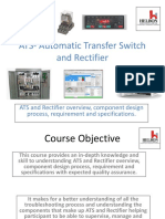 ATS-Automatic Transfer Switch & Rectifier1