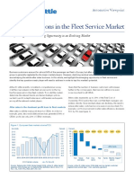 Strategic Options in the Fleet Service Market
