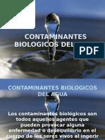 Contaminantes Biologicos Del Agua.