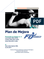 Fit Gym-Plan de Mejora