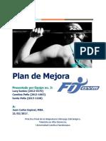 Fit Gym-Plan de Mejora